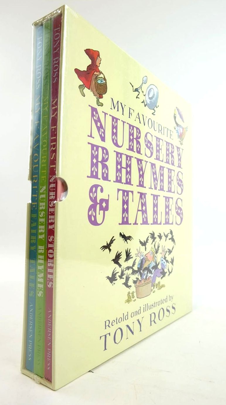 Photo of MY FAVOURITE NURSERY RHYMES & TALES (3 VOLUMES)- Stock Number: 1820347