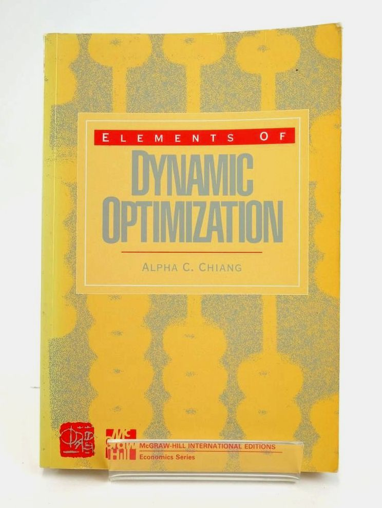 Photo of ELEMENTS OF DYNAMIC OPTIMIZATION- Stock Number: 1820361