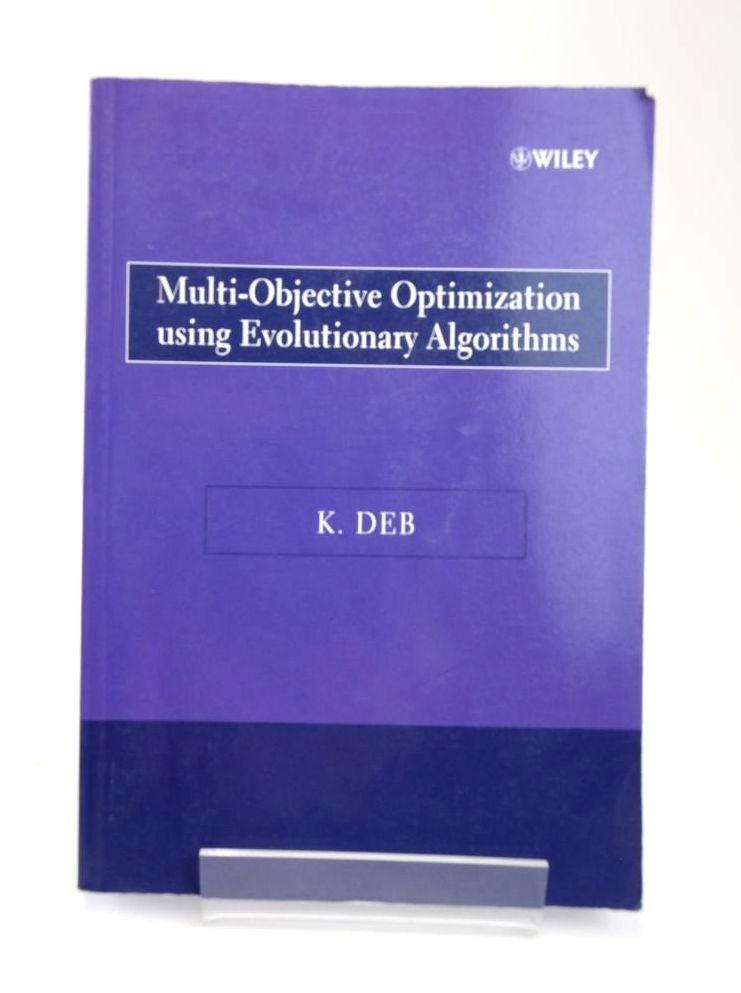 Photo of MULTI-OBJECTIVE OPTIMIZATION USING EVOLUTIONARY ALGORITHMS- Stock Number: 1820365