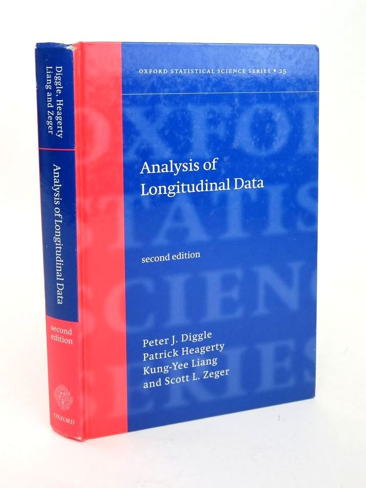 Photo of ANALYSIS OF LONGITUDINAL DATA written by Diggle, Peter J. Heagerty, Patrick J. Lian, Kung-Yee Zeger, Scott L. published by Oxford University Press (STOCK CODE: 1820378)  for sale by Stella & Rose's Books