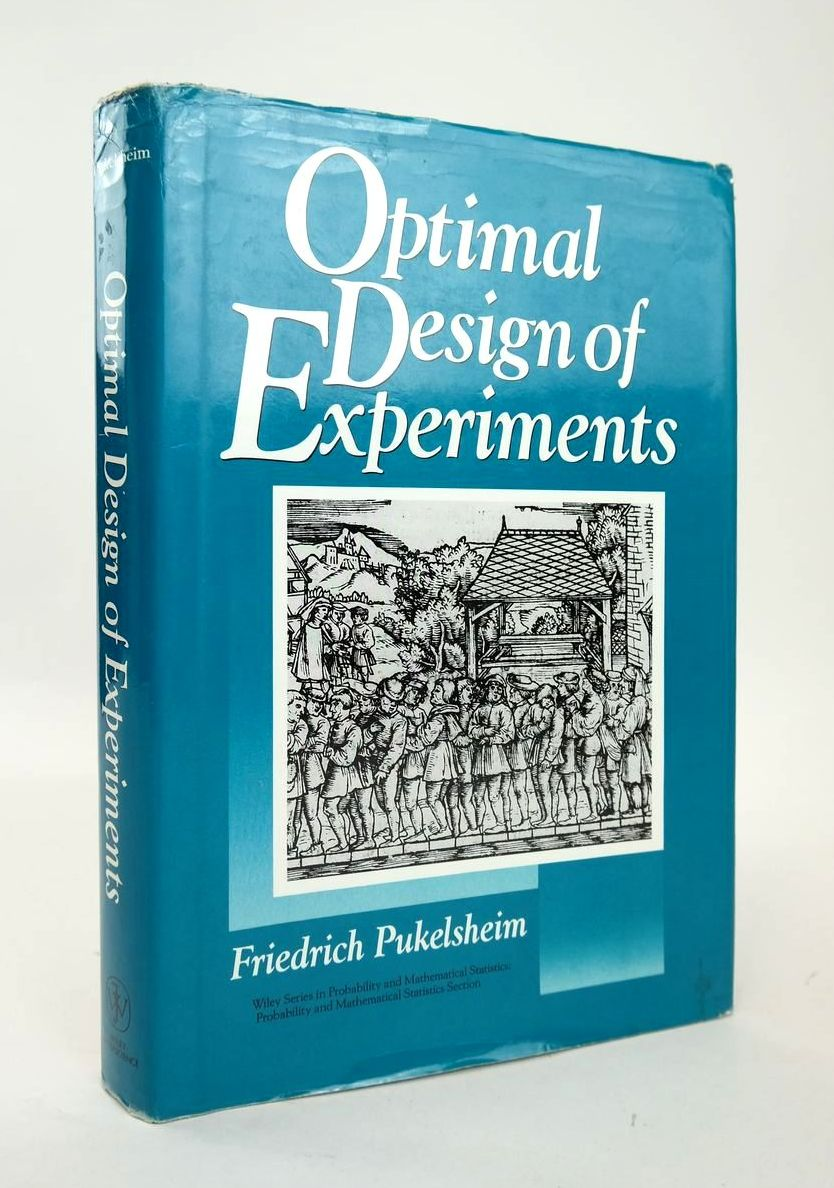 Photo of OPTIMAL DESIGN OF EXPERIMENTS- Stock Number: 1820379