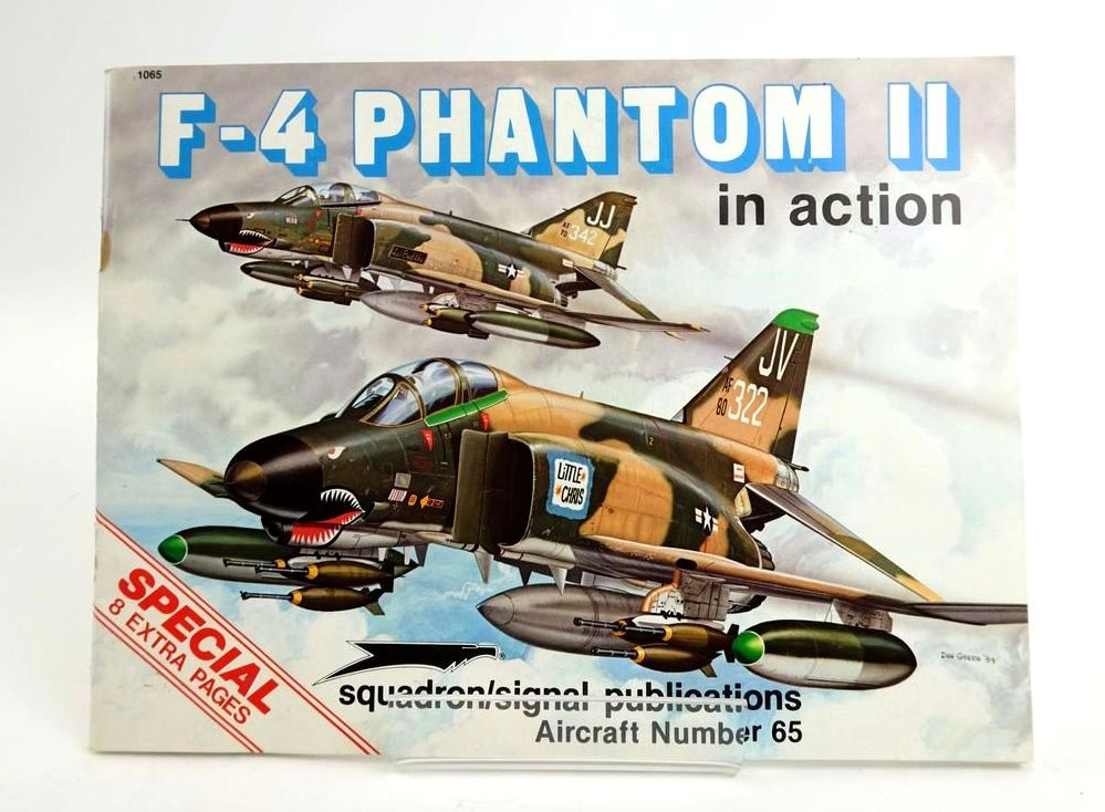 Photo of F-4 PHANTOM II IN ACTION (AIRCRAFT NUMBER 65) written by Davis, Larry illustrated by Greer, Don