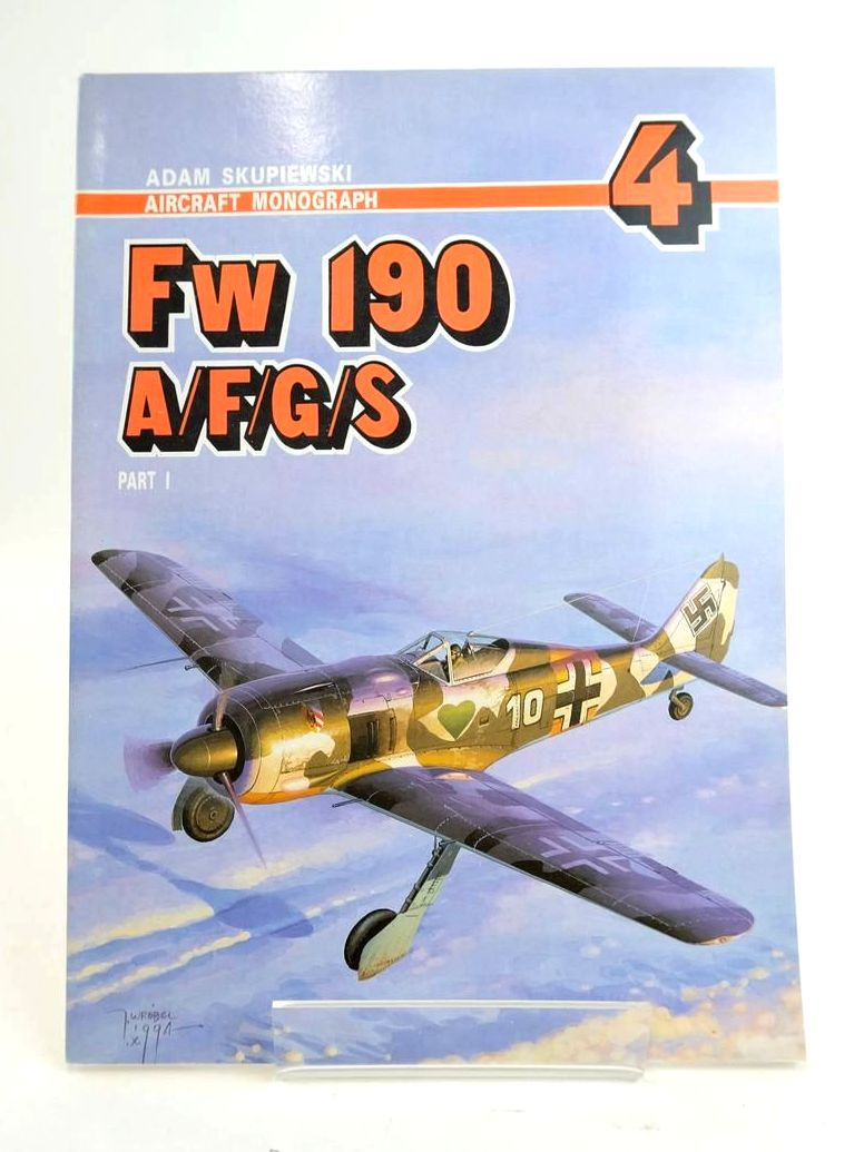 Photo of FW 190 A/F/G/S PART 1 (AIRCRAFT MONOGRAPH 4) written by Skupiewski, Adam published by AJ-Press (STOCK CODE: 1820408)  for sale by Stella & Rose's Books