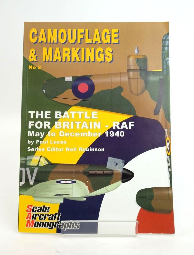 Photo of CAMOUFLAGE & MARKINGS  No. 2 THE BATTLE FOR BRITAIN - RAF MAY TO DECEMBER 1940 written by Lucas, Paul published by Guideline Publications (STOCK CODE: 1820409)  for sale by Stella & Rose's Books