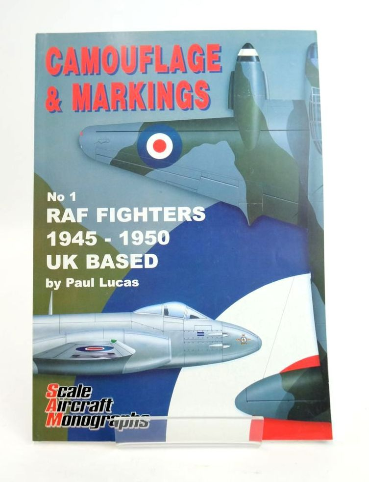 Photo of CAMOUFLAGE & MARKINGS  No. 1 RAF FIGHTERS 1945-1950 UK BASED written by Lucas, Paul illustrated by Scott, Peter published by Guideline Publications (STOCK CODE: 1820410)  for sale by Stella & Rose's Books