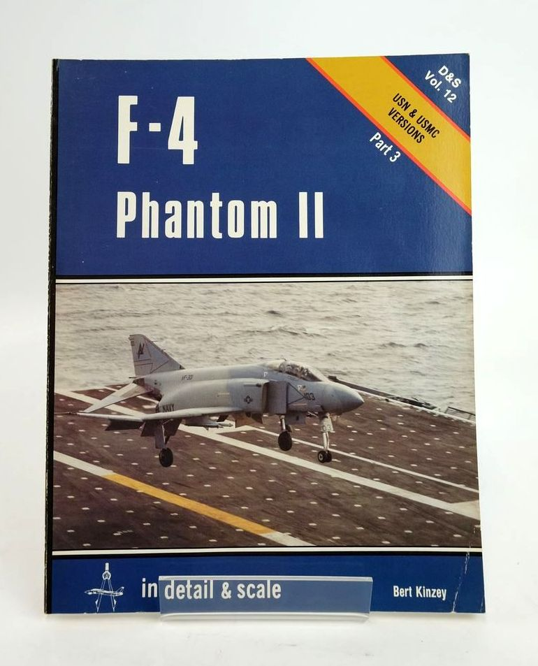 Photo of F-4 PHANTOM II IN DETAIL & SCALE written by Kinzey, Bert published by Arms & Armour Press (STOCK CODE: 1820411)  for sale by Stella & Rose's Books
