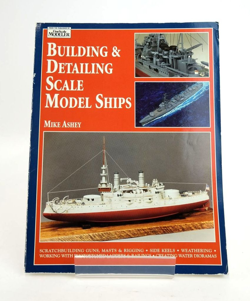 Photo of BUILDING & DETAILING SCALE MODEL SHIPS written by Ashey, Mike published by Airlife (STOCK CODE: 1820416)  for sale by Stella & Rose's Books