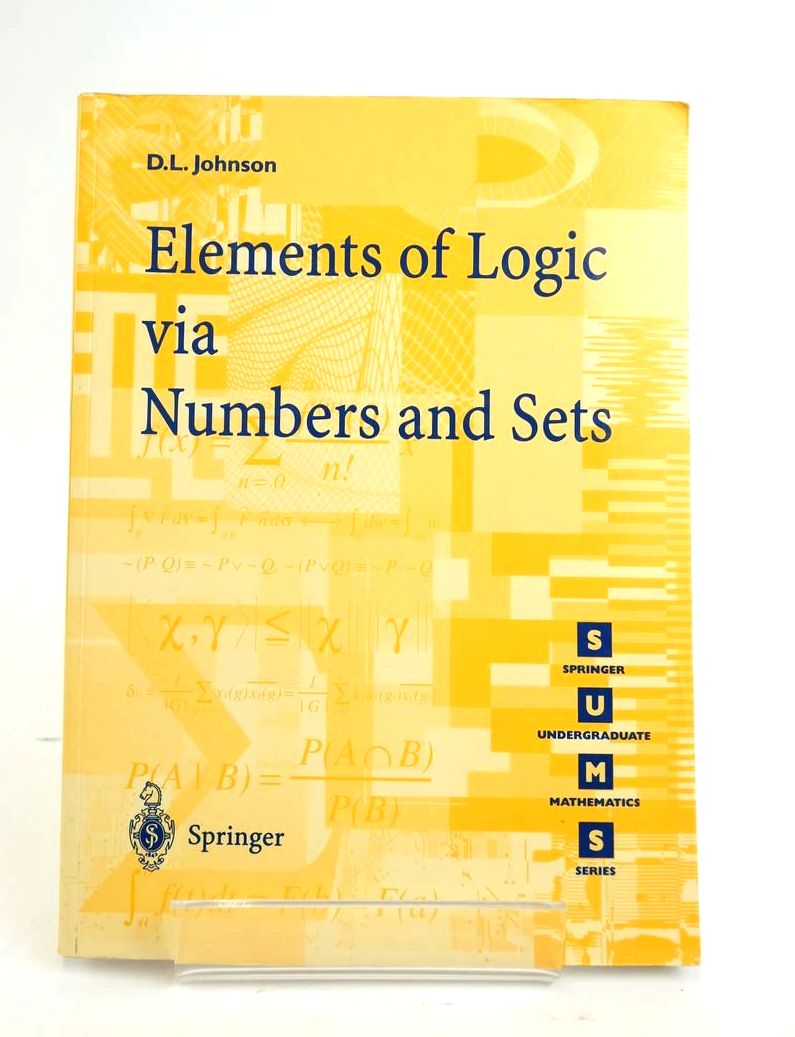 Photo of ELEMENTS OF LOGIC VIA NUMBERS AND SETS- Stock Number: 1820428