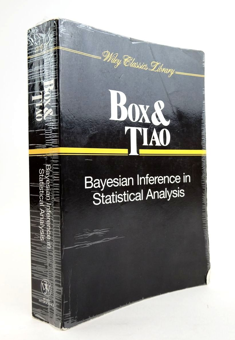 Photo of BAYESIAN INFERENCE IN STATISTICAL ANALYSIS written by Box, George E.P. Tiao, George C. published by John Wiley & Sons (STOCK CODE: 1820429)  for sale by Stella & Rose's Books
