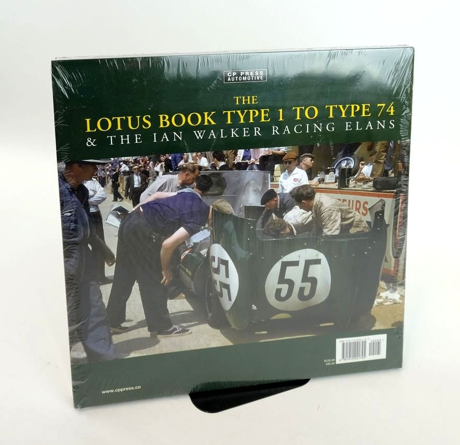 Photo of THE LOTUS BOOK TYPE 1 TO TYPE 74 & THE IAN WALKER RACING ELANS (CP PRESS AUTOMOTIVE) written by Pitt, Colin published by CP Press (STOCK CODE: 1820440)  for sale by Stella & Rose's Books
