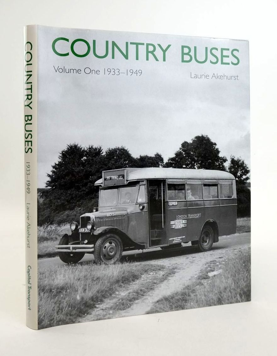 Photo of COUNTRY BUSES VOLUME ONE 1933-1949 written by Akehurst, Laurie published by Capital Transport (STOCK CODE: 1820443)  for sale by Stella & Rose's Books