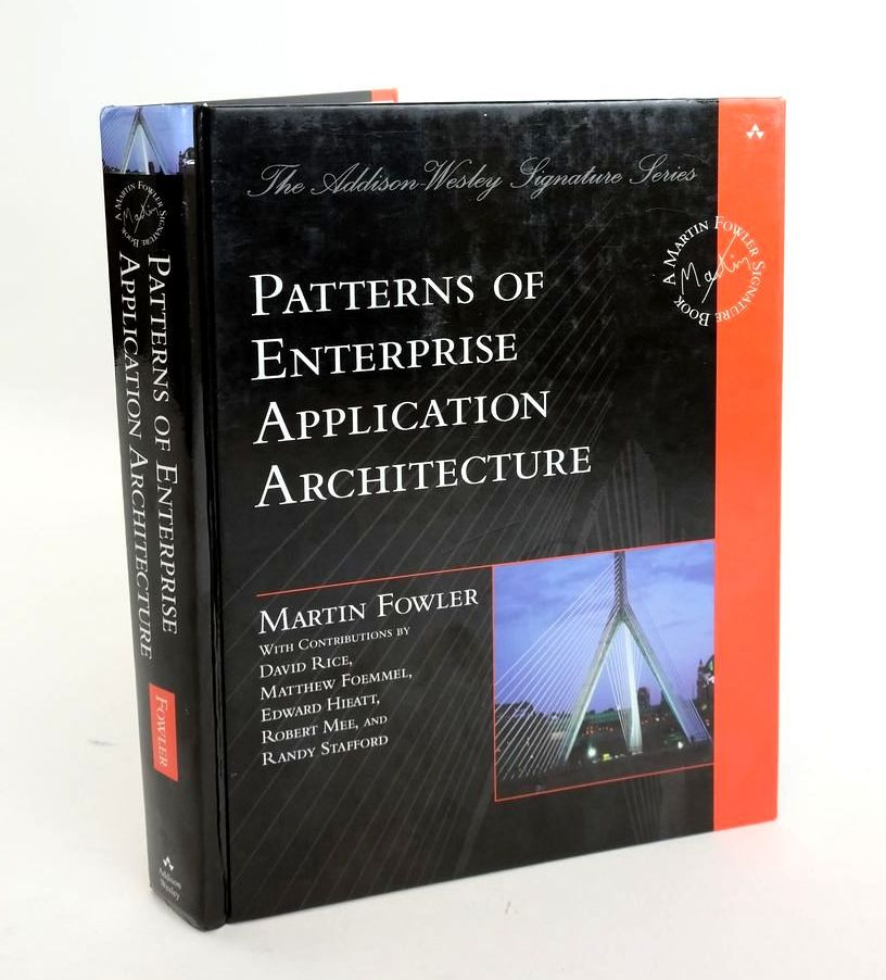 Photo of PATTERNS OF ENTERPRISE APPLICATION ARCHITECTURE written by Fowler, Martin published by Addison-Wesley (STOCK CODE: 1820448)  for sale by Stella & Rose's Books
