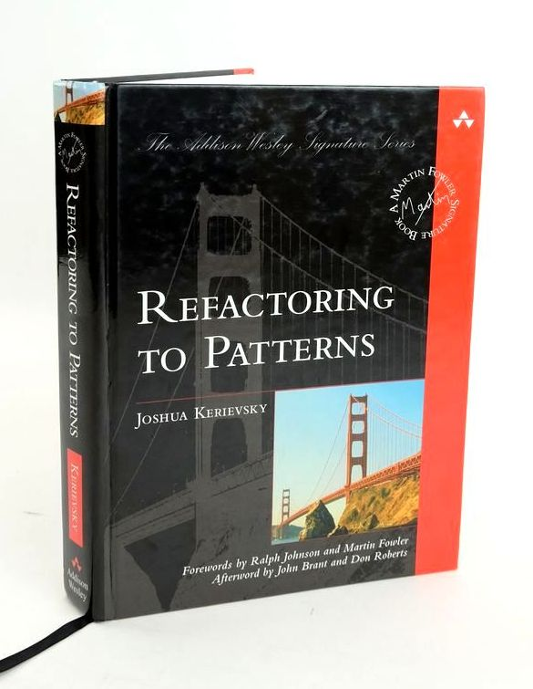 Photo of REFACTORING TO PATTERNS- Stock Number: 1820455