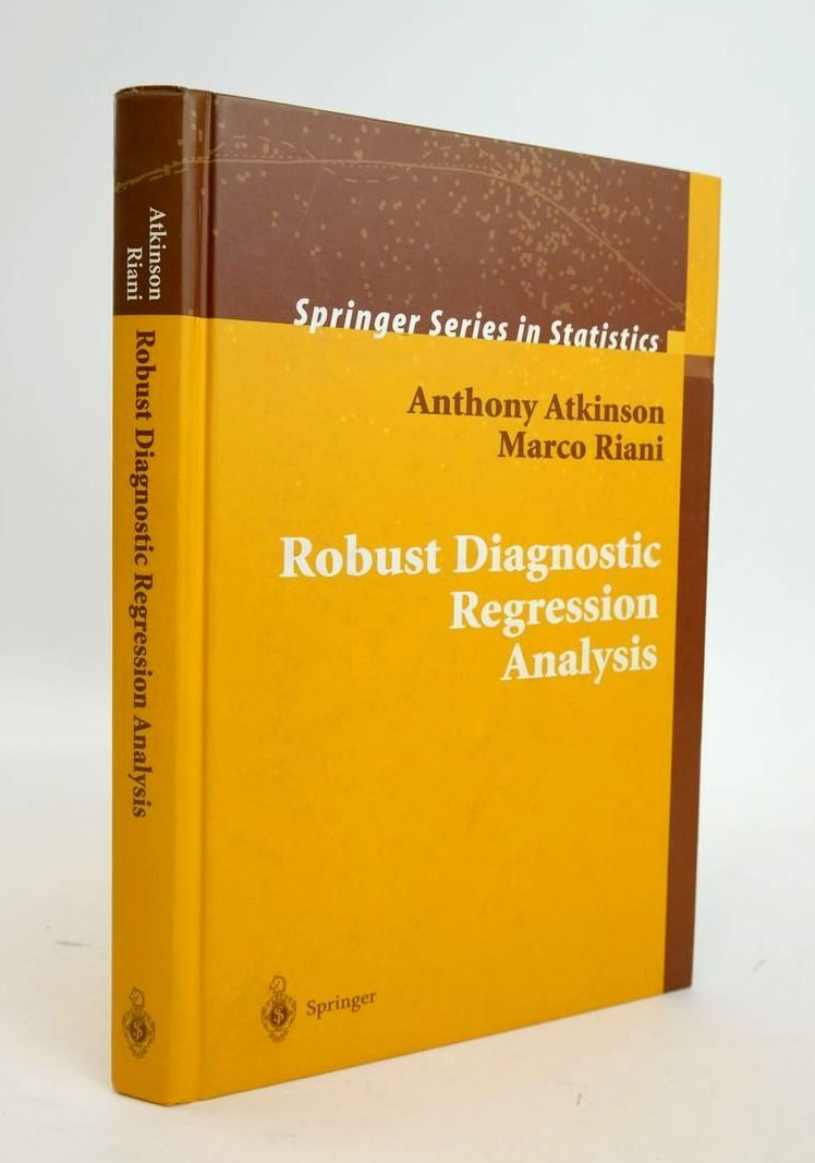 Photo of ROBUST DIAGNOSTIC REGRESSION ANALYSIS- Stock Number: 1820462