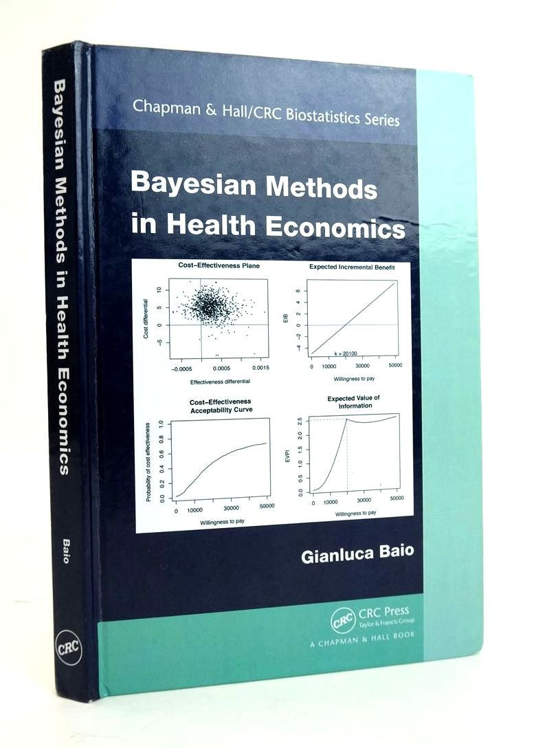 Photo of BAYESIAN METHODS IN HEALTH ECONOMICS written by Baio, Gianluca published by CRC Press (STOCK CODE: 1820474)  for sale by Stella & Rose's Books