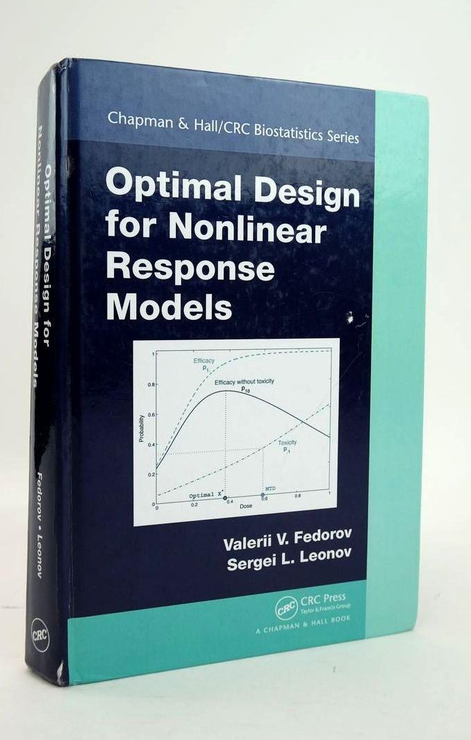 Photo of OPTIMAL DESIGN FOR NONLINEAR RESPONSE MODELS- Stock Number: 1820477