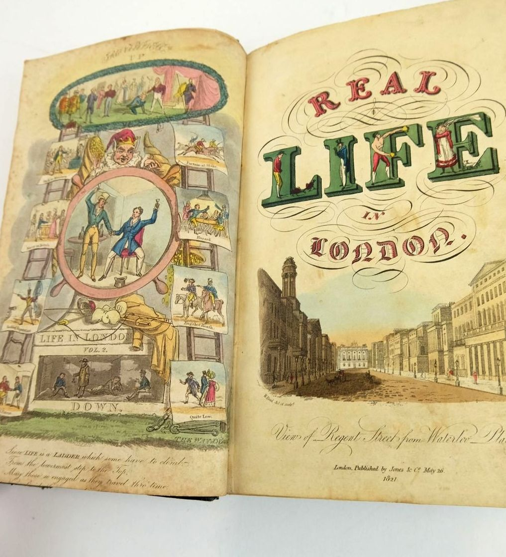 Photo of REAL LIFE IN LONDON (2 VOLUMES) published by Jones And Co. (STOCK CODE: 1820499)  for sale by Stella & Rose's Books