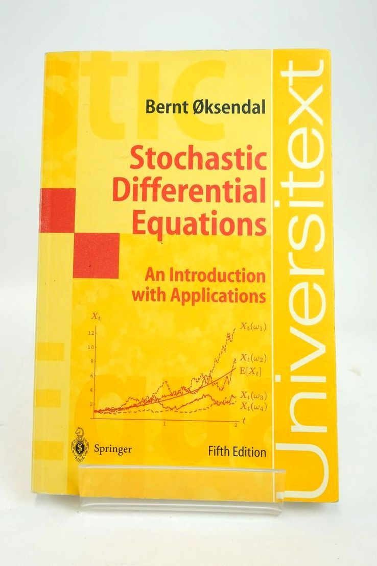 Photo of STOCHASTIC DIFFERENTIAL EQUATIONS: AN INTRODUCTION WITH APPLICATIONS written by Oksendal, Bernt published by Springer (STOCK CODE: 1820553)  for sale by Stella & Rose's Books