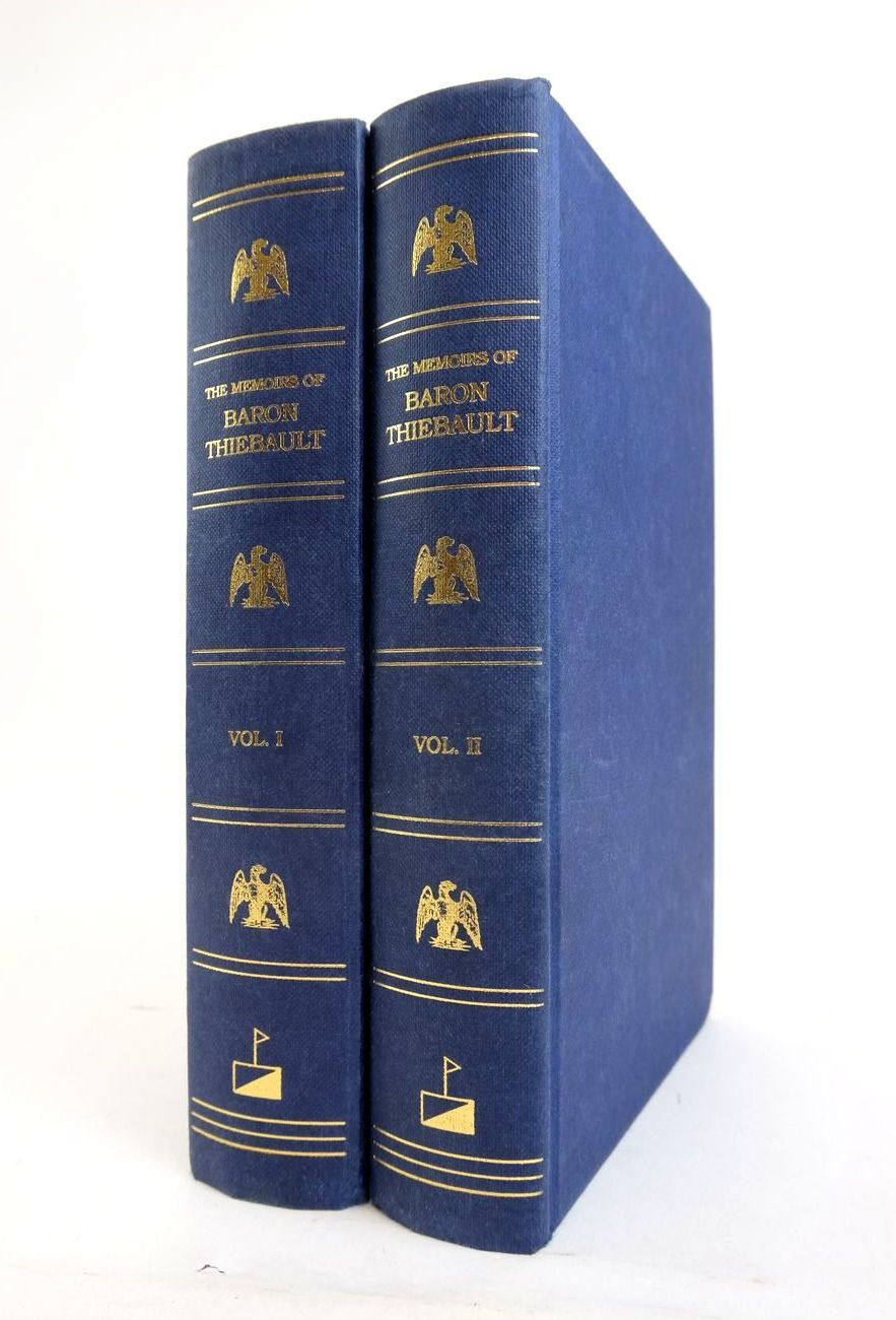 Photo of THE MEMOIRS OF BARON THIEBAULT (2 VOLUMES) written by Thiebault, Paul C.F.A.H. Butler, Arthur John published by Worley Publications (STOCK CODE: 1820555)  for sale by Stella & Rose's Books