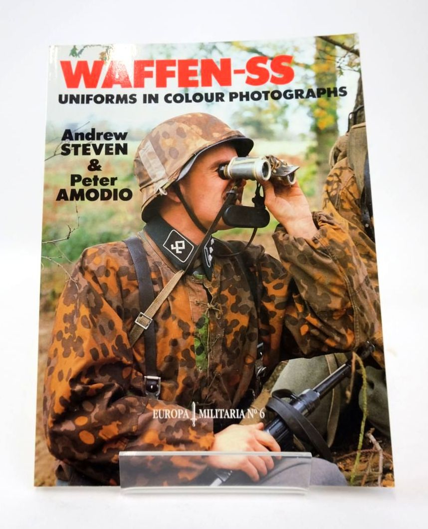 Photo of WAFFEN-SS UNIFORMS IN COLOUR PHOTOGRAPHS (EUROPA MILITARIA NO 6) written by Steven, Andrew Amodio, Peter published by Windrow & Greene (STOCK CODE: 1820567)  for sale by Stella & Rose's Books