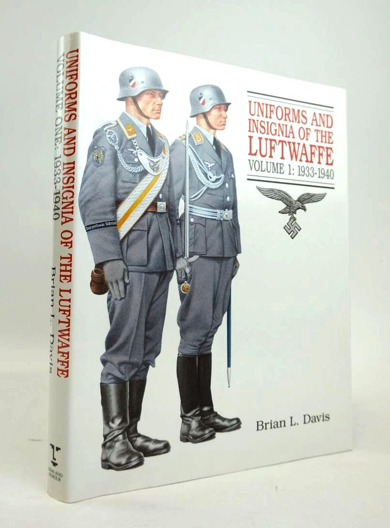 Photo of UNIFORMS AND INSIGNIA OF THE LUFTWAFFE VOLUME 1: 1933-1940 written by Davis, Brian L. published by Arms & Armour Press (STOCK CODE: 1820573)  for sale by Stella & Rose's Books
