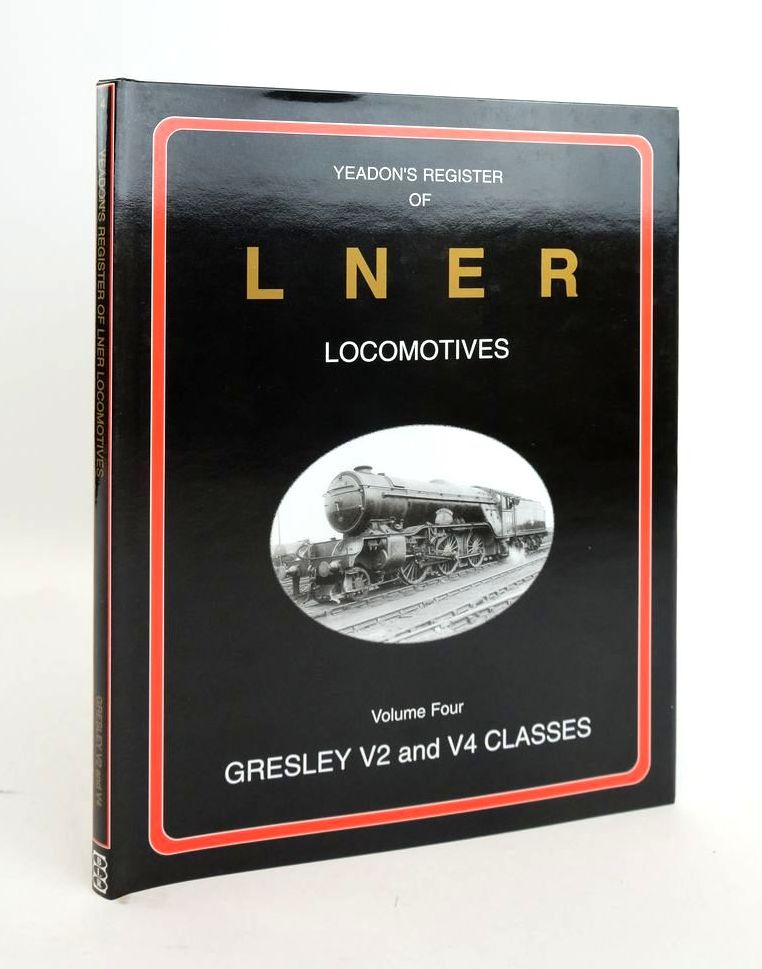 Photo of YEADON'S REGISTER OF LNER LOCOMOTIVES VOLUME FOUR- Stock Number: 1820600