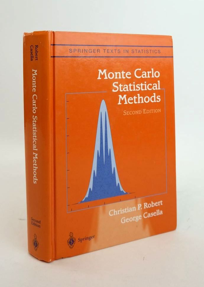 Photo of MONTE CARLO STATISTICAL METHODS written by Robert, Christian P. Casella, George published by Springer (STOCK CODE: 1820618)  for sale by Stella & Rose's Books