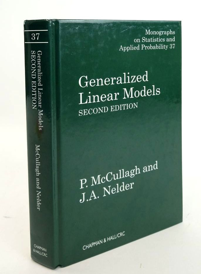 Photo of GENERALIZED LINEAR MODELS written by Mccullagh, P. Nelder, J.A. published by Chapman & Hall (STOCK CODE: 1820622)  for sale by Stella & Rose's Books