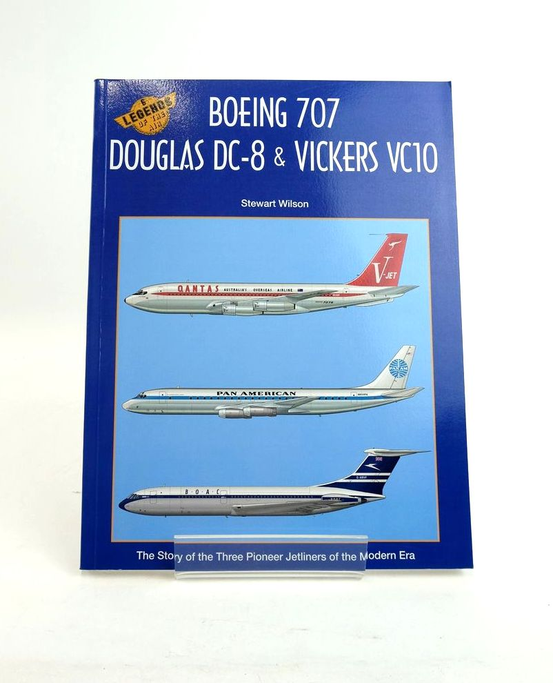 Photo of BOEING 707, DOUGLAS DC-8 & VICKERS VC10 (LEGENDS OF THE AIR 6) written by Wilson, Stewart illustrated by Franzi, Juanita