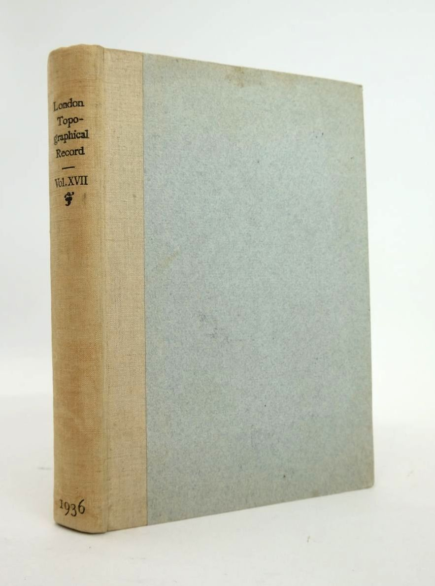 Photo of LONDON TOPOGRAPHICAL RECORD VOL XVII written by Godfrey, Walter H. published by Cambridge University Press (STOCK CODE: 1820767)  for sale by Stella & Rose's Books