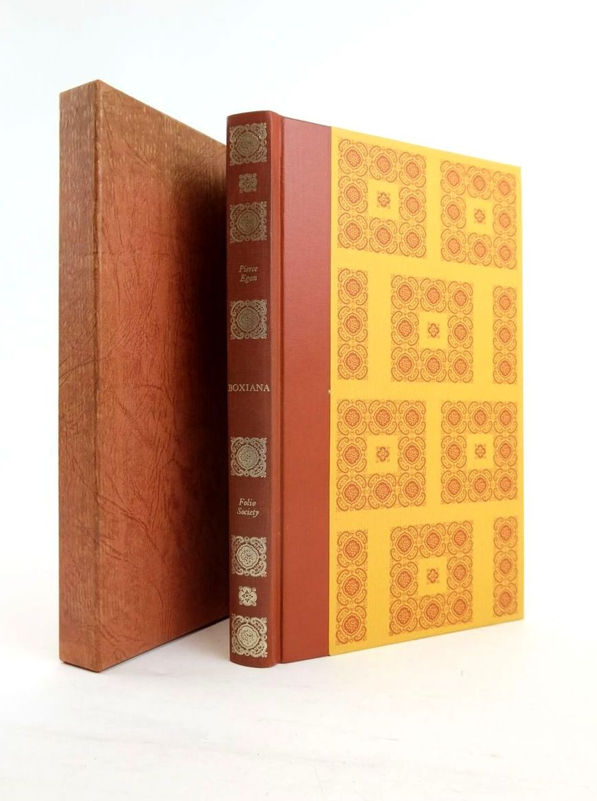 Photo of BOXIANA OR SKETCHES OF ANCIENT AND MODERN PUGILISM written by Egan, Pierce Ford, John published by Folio Society (STOCK CODE: 1820796)  for sale by Stella & Rose's Books