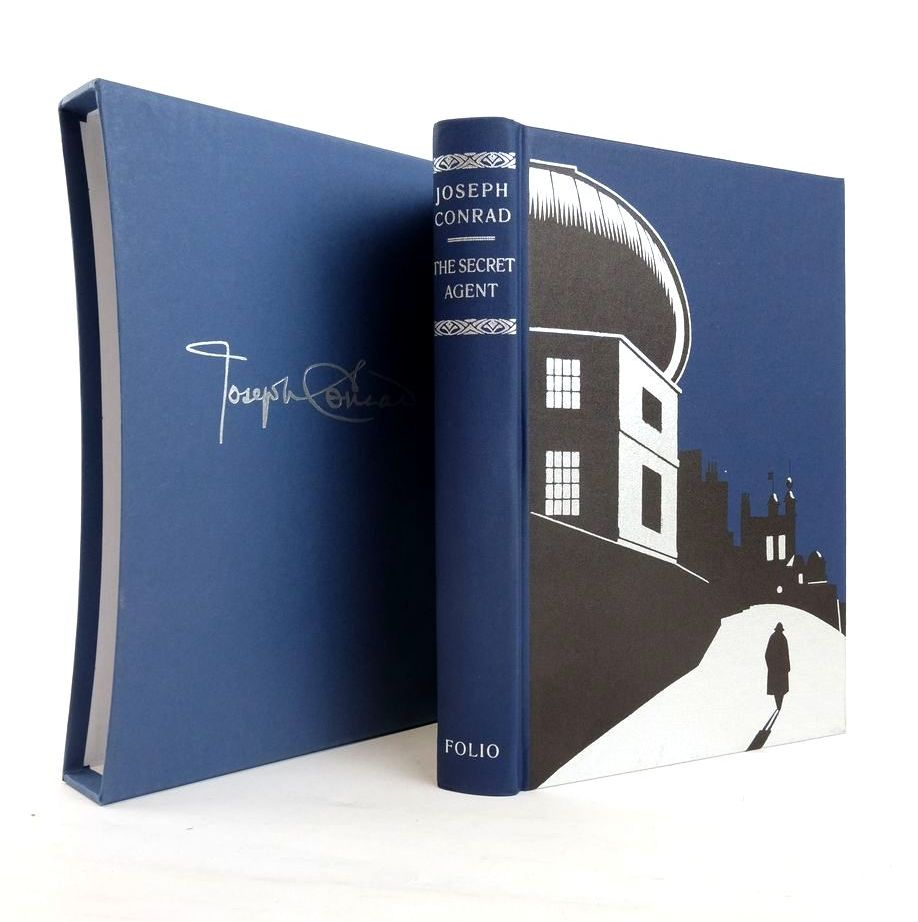 Photo of THE SECRET AGENT written by Conrad, Joseph Ward, Colin illustrated by Mosley, Francis published by Folio Society (STOCK CODE: 1820820)  for sale by Stella & Rose's Books