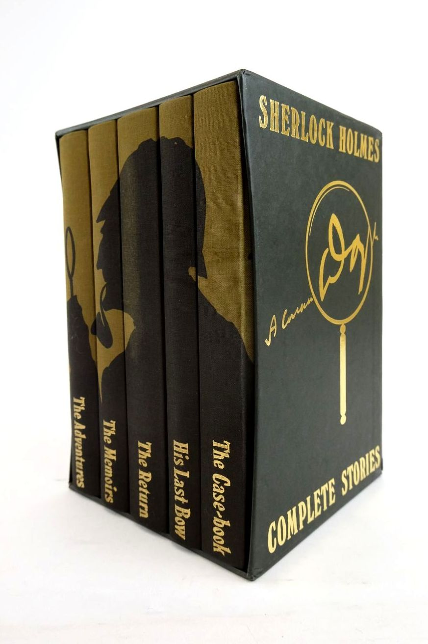 Photo of SHERLOCK HOLMES COMPLETE STORIES (5 VOLUMES) written by Doyle, Arthur Conan illustrated by Mosley, Francis published by Folio Society (STOCK CODE: 1820839)  for sale by Stella & Rose's Books