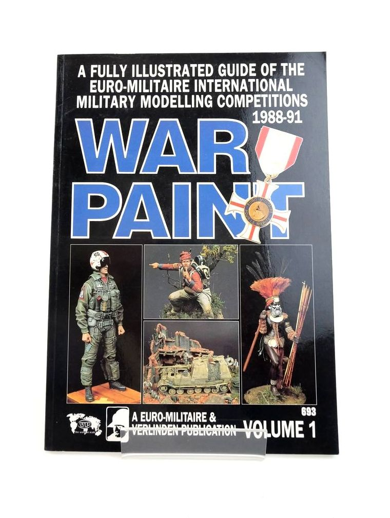 Photo of WAR PAINT VOLUME 1 published by Euro Militaire & Verlinden Publications (STOCK CODE: 1820852)  for sale by Stella & Rose's Books