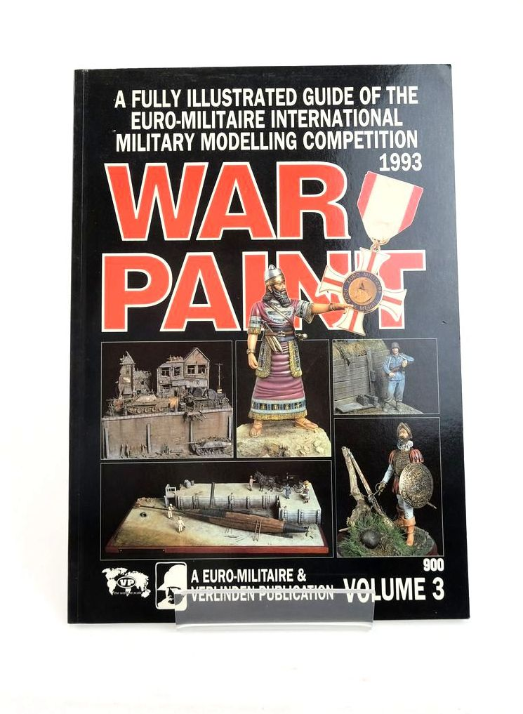 Photo of WAR PAINT VOLUME 3 published by Euro Militaire & Verlinden Publications (STOCK CODE: 1820854)  for sale by Stella & Rose's Books