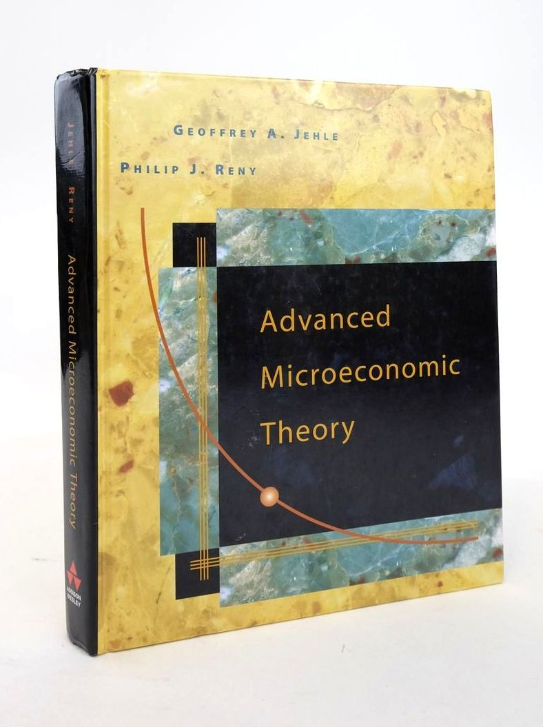 Photo of ADVANCED MICROECONOMIC THEORY- Stock Number: 1820915