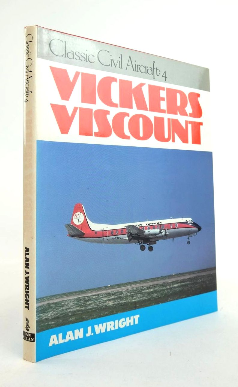 Photo of VICKERS VISCOUNT (CLASSIC CIVIL AIRCRAFT: 4) written by Wright, Alan J. published by Ian Allan (STOCK CODE: 1820972)  for sale by Stella & Rose's Books