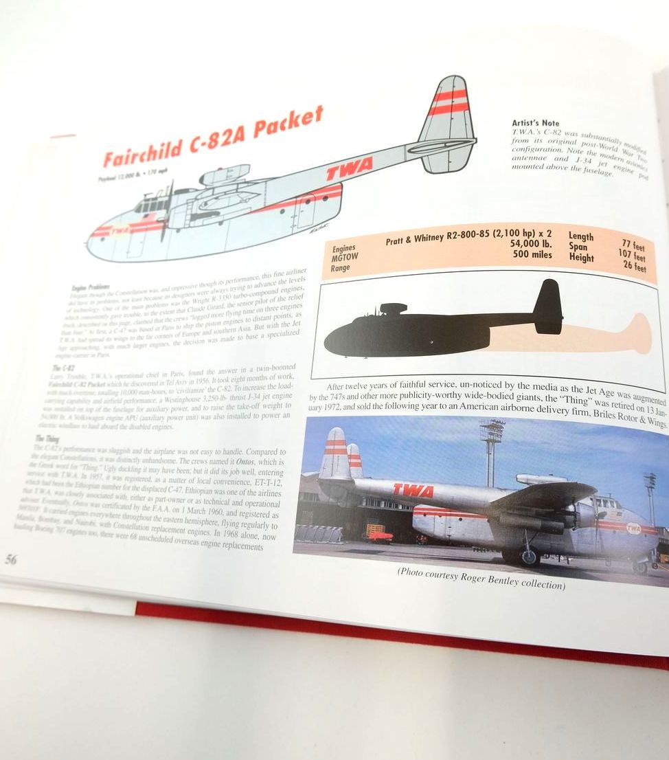 Photo of TWA: AN AIRLINE AND ITS AIRCRAFT written by Davies, R.E.G. illustrated by Machat, Mike published by Paladwr Press (STOCK CODE: 1821009)  for sale by Stella & Rose's Books
