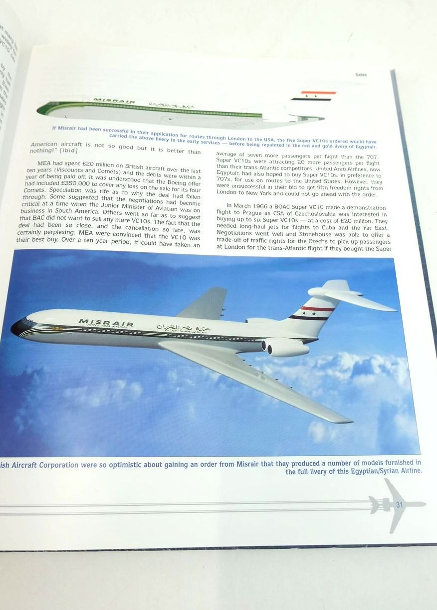 Photo of SILENT SWIFT SUPERB: THE STORY OF THE VICKERS VC10 written by Walker, Timothy