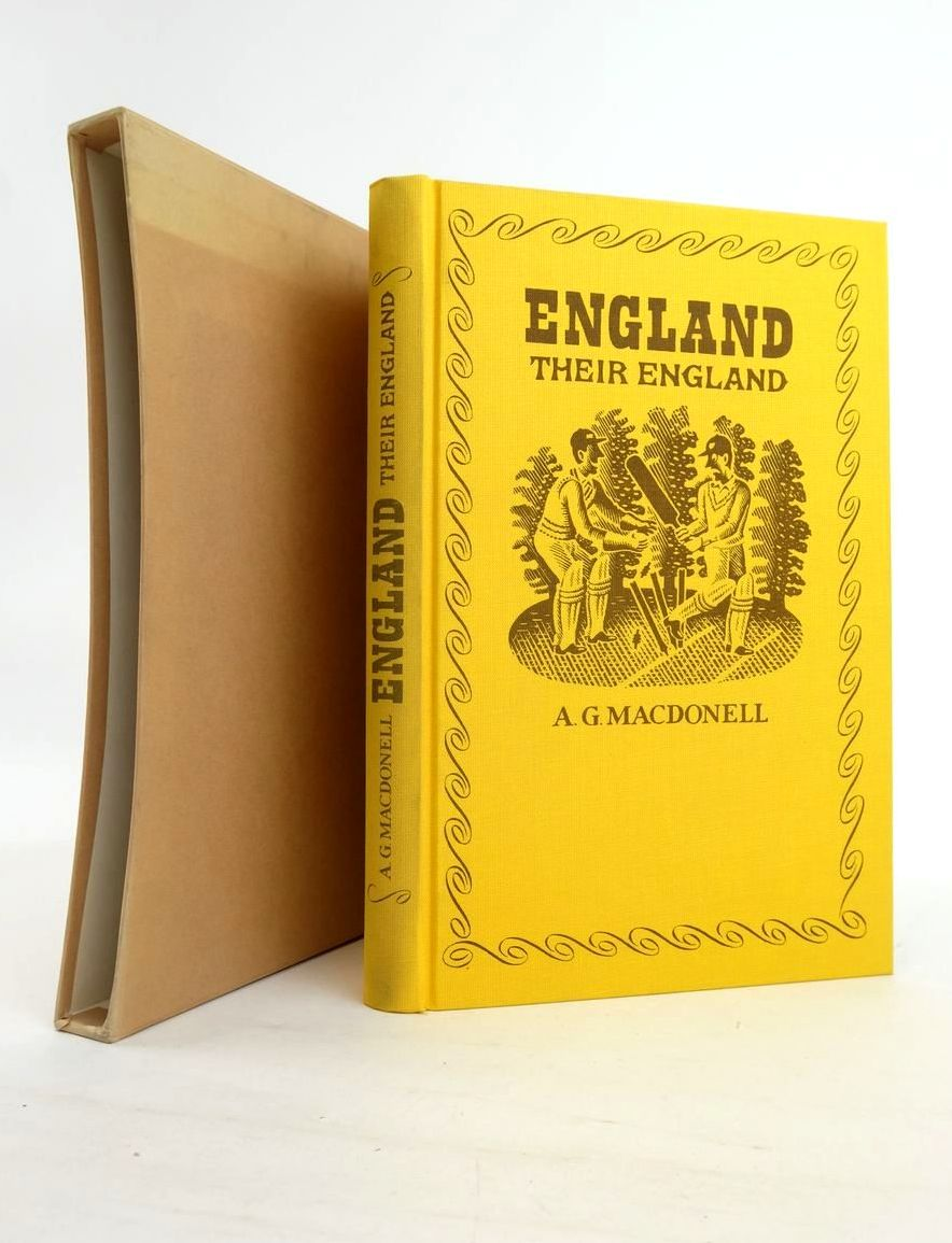 Photo of ENGLAND THEIR ENGLAND written by MacDonell, A.G. Vickers, Hugo illustrated by Brookes, Peter published by Folio Society (STOCK CODE: 1821026)  for sale by Stella & Rose's Books
