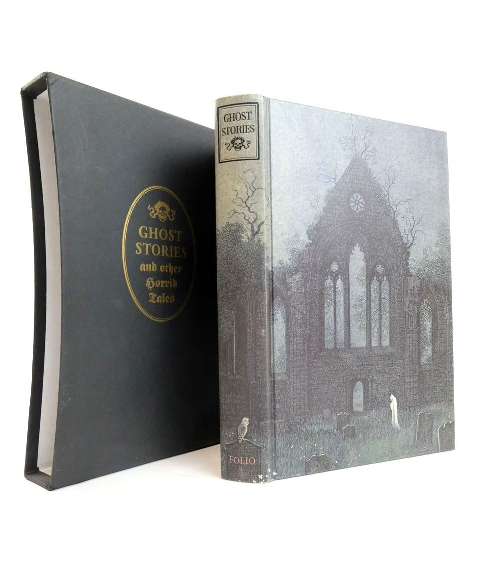 Photo of GHOST STORIES AND OTHER HORRID TALES written by Stewart, Charles W. Le Fanu, J. Sheridan Stevenson, Robert Louis Hearn, Lafcadio et al, illustrated by Stewart, Charles W. published by Folio Society (STOCK CODE: 1821035)  for sale by Stella & Rose's Books
