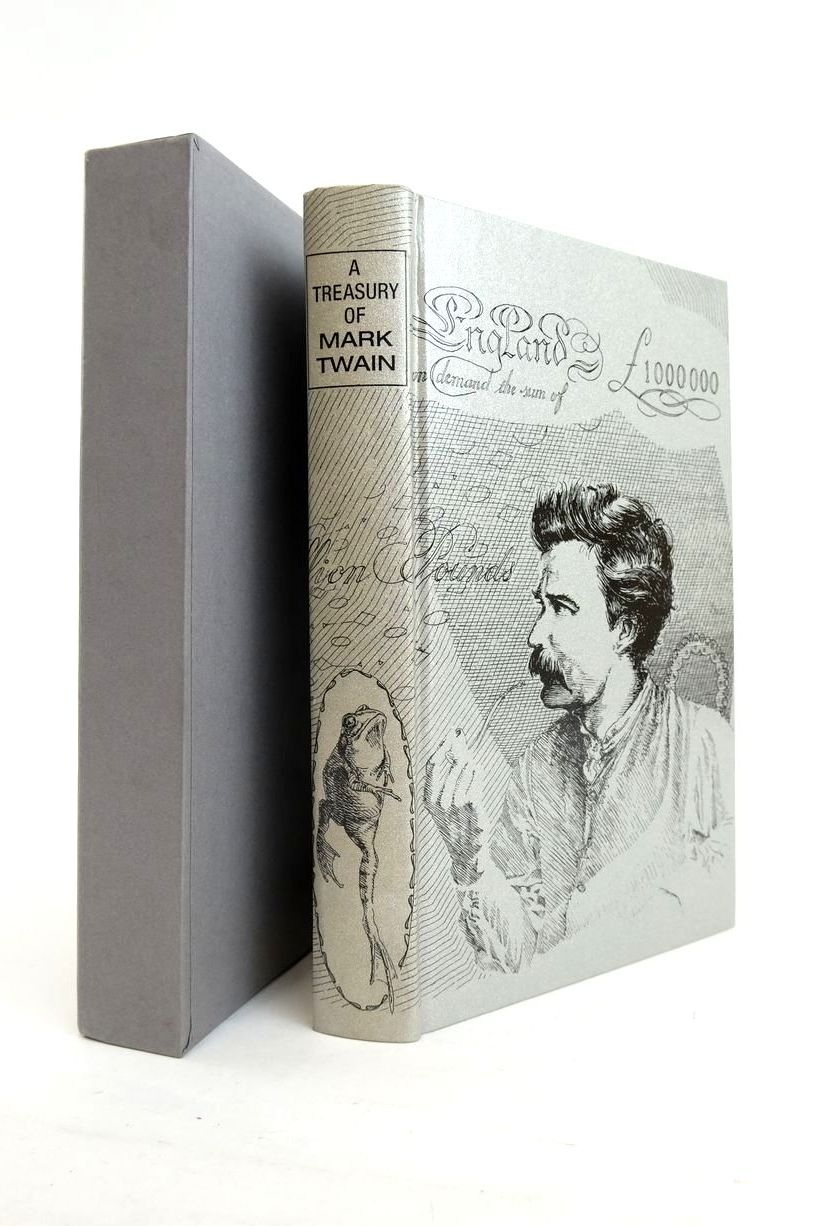 Photo of A TREASURY OF MARK TWAIN written by Twain, Mark Blount, Roy illustrated by Waters, Rod published by Folio Society (STOCK CODE: 1821045)  for sale by Stella & Rose's Books