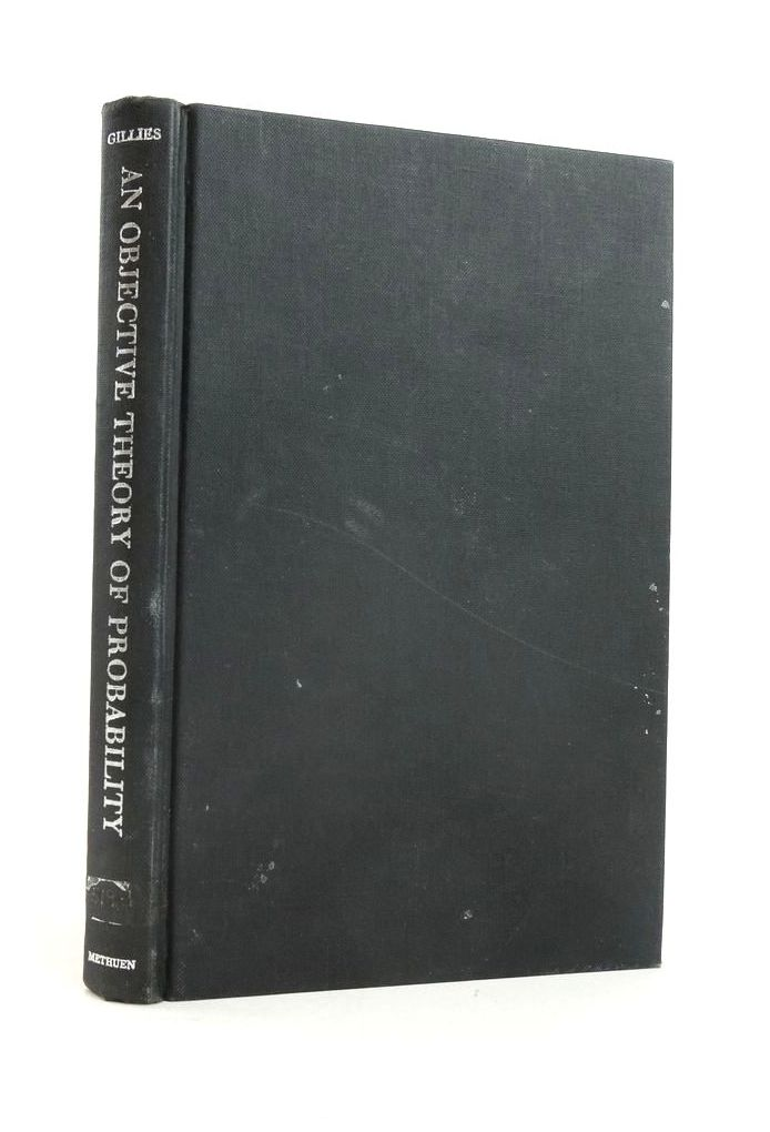 Photo of AN OBJECTIVE THEORY OF PROBABILITY- Stock Number: 1821059