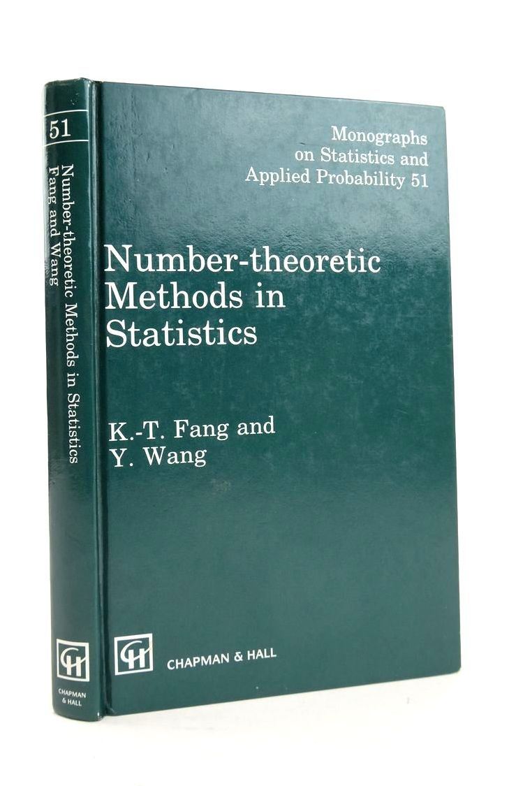 Photo of NUMBER-THEORETIC METHODS IN STATISTICS written by Fang, K.-T. Wang, Y. published by Chapman & Hall (STOCK CODE: 1821064)  for sale by Stella & Rose's Books