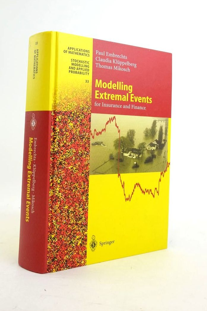 Photo of MODELLING EXTREMAL EVENTS FOR INSURANCE AND FINANCE- Stock Number: 1821073