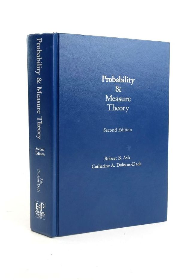Photo of PROBABILITY AND MEASURE THEORY- Stock Number: 1821074