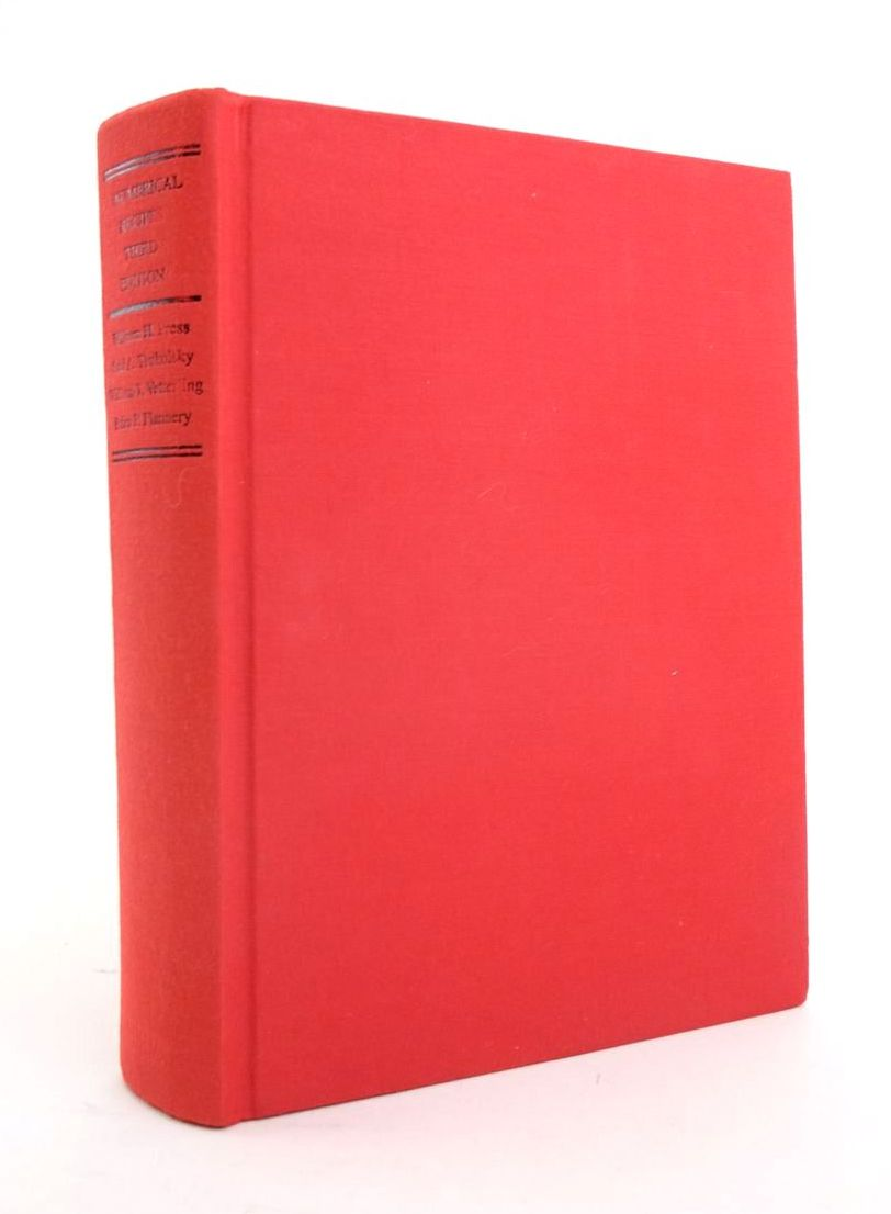 Photo of NUMERICAL RECIPES: THE ART OF SCIENTIFIC COMPUTING- Stock Number: 1821086