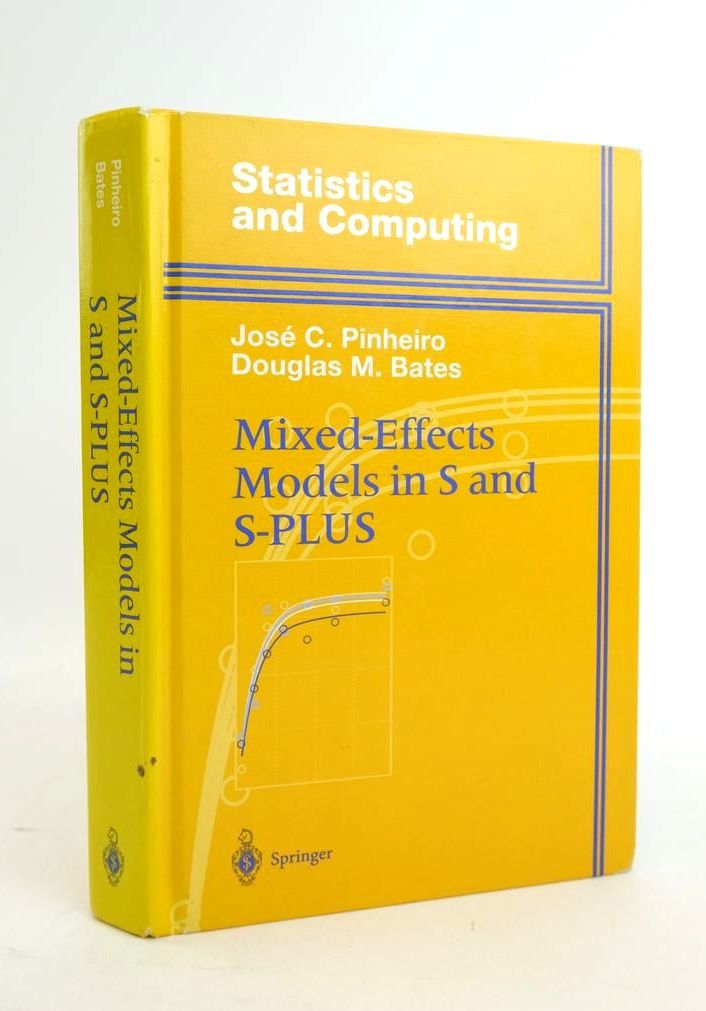 Photo of MIXED-EFFECTS MODELS IN S AND S-PLUS- Stock Number: 1821090