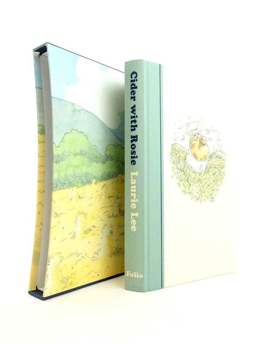 Photo of CIDER WITH ROSIE written by Lee, Laurie Grove, Valerie illustrated by Bailey, Peter published by Folio Society (STOCK CODE: 1821100)  for sale by Stella & Rose's Books