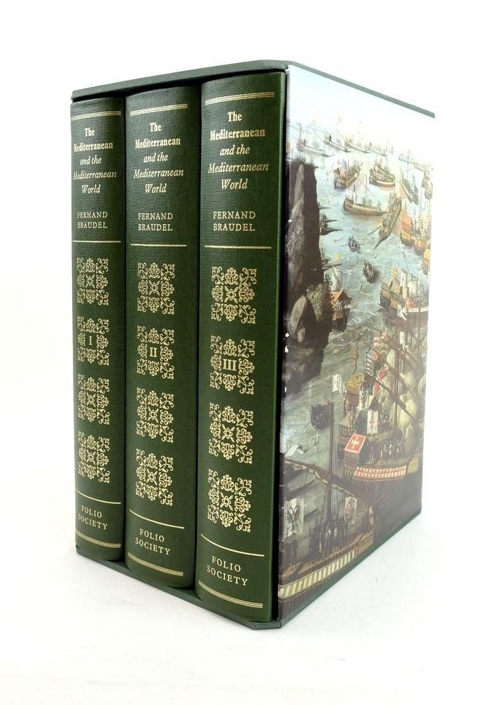 Photo of THE MEDITERRANEAN AND THE MEDITERRANEAN WORLD IN THE AGE OF PHILIP II (3 VOLUMES) written by Braudel, Fernand published by Folio Society (STOCK CODE: 1821115)  for sale by Stella & Rose's Books